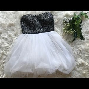DELIAS formal short dress!